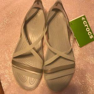 Crocs Isabella straps sandal- size 9